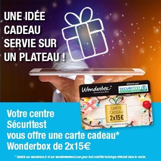 Carte Cadeau WonderBox